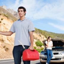 Run out of gas in Ventura, CA