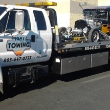 toms towing ventura antique car moving